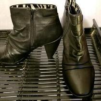 New Libby Edelman Womens Ankle Boots Bootie Black Size 8.5 8 1/2 No Box L Parker Photo