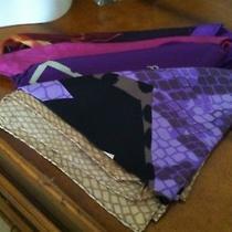 New Listing - Vtg Lot 27 Purple Tone  - 4 Scarves  W Echo p.a.s. Ellen Tracy Photo