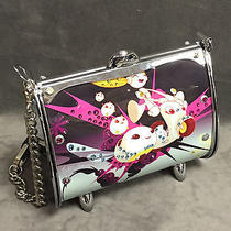 New  Little Earth 200 Espinosa Fender Flairtte Swarovski Crystals Purse Bag Photo
