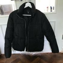 New Look Black 'Puffa' Jacket - Small - Excellent Condition. Photo