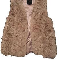 New Look Blush Fur Gilet Uk 12 Photo