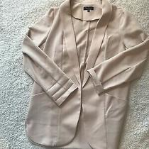 New Look Size 12 Blush Pink Blazer 3/4 Sleeves Photo