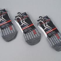 New Lot 3 Pair Falke Ru4 Short Running Socks  Women's 41-42 Us 9.5-10.5 White Photo