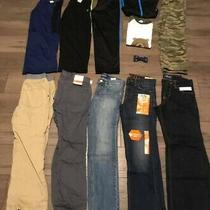 New Lot of 12 Items Boys Size 8 Pants Track Suit Pajamas. M. Old Navy Carters Photo