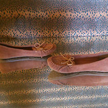 New Lucky Brand - Rust Suede Moccasin - Women's Slipper - Peace Fringe 10 Us 40 Photo