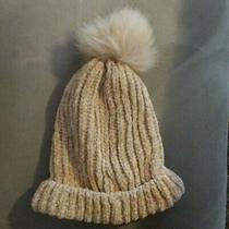 New Lulu's Beanie Hat Cream/blush Color Photo