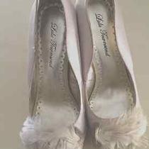 New Lulu Townsend Wedding/bridal/prom/cocktail Shoes-Champagne Size 8.5 Photo