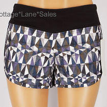 New Lululemon Stained Glass Love Blush Quilted Warm Hot Cheeks Ii Shorts Sz 6 Photo
