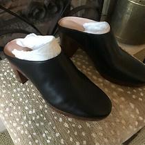 New Madewell   Black Leather Mule Heel Photo