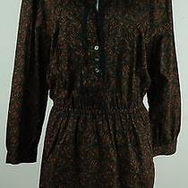 New Madewell Size Medium Dress Pinktucks Pockets Sample Photo