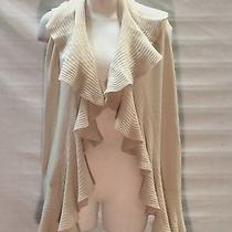 New Magaschoni 100% Cashmere Mica Shawl Wrap Scarf With Ruffle Nwt 270 Photo