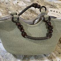 New Magid Handbag Purse Natural Handbag Bag Crossbody Satchel Shoulder Tote Photo