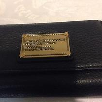 New Marc by Marc Jacobs Iphone 4 Case Black Leather Wristelet Wallet Retail 168 Photo