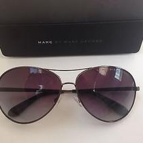 New Marc Jacobs Aviator Sunglasses With Case & With Free Jewelry Gift Photo