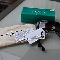 New Marni at h&m Kat2 Sunglasses Aviator Bag & Box Global Event Celebrities Photo