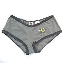 New Mary Green Women Gray Boy Leg Shorts Underwear Panties Lingerie Size M 38 Photo