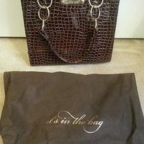 New Mary Kay Brown Croc Patent Purse - Director Prize Photo