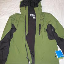 New Men Columbia Single Track Softshell Coat/size Small Photo