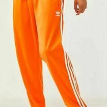 New Men's Adidas Originals Firebird Track Pants  Size 2xl Xxl Ed7015  Orange Photo