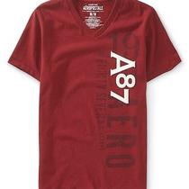 New Men's Aeropostale New York Ny A87 Aero Graphic T Shirt Xl Nwt Barn Red Photo