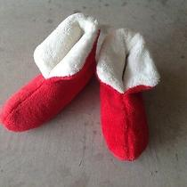 New Mens Avon Red Cozy Lugg Sole Santa Slippers Xxl / Us 11.5 - 12  Christmas  Photo