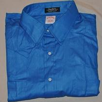 New Men's Brooks Brothers S/s Shirt Must See Great Shirt  Photo