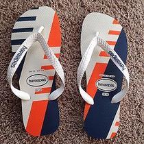 New Men's Havaianas Flip-Flops Beach Sandals Sizes Usa 7/8 Eur 41/42 Unisex Photo