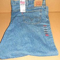 New Men's Levis Big & Tall 560 Comfort Fit Blue Denim Jeans Nwt 56x30  Photo