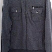 New Mens Rock & Republic Modern Colorblock Full Zip Jacket Dark Grey Size Xxl Photo