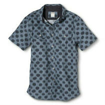 New Men's Short Sleeve Athletic Fit Lauren Blue Shirt - Size S Photo