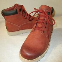 New Men's Ugg Seton Tl Winter Chukka Boots Rusty Red Sz 12 M - Rare Color Photo