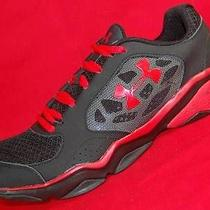 New Men's Under Armour Micro G Strive Iv Black/red Athletic Running Shoes 8/41 Photo