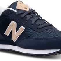 New Mens 8 Navy/tan 501 Lifestyle Athletic Classic Tennis Shoes New Balance   Photo