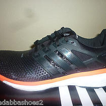 New Mens Adidas Energy Boost 2  2.0 Atr Running Shoes Black Red M18750 Size 11  Photo