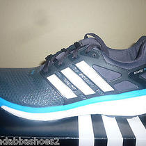 New Mens Adidas Energy Boost 2  2.0 Atr Running Shoes Grey Blue M18914 Size 10  Photo