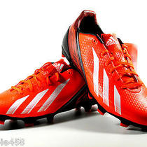 New Mens Adidas F30 Trx Fg Soccer Cleats Size 8 Neon Orange/black/white Photo