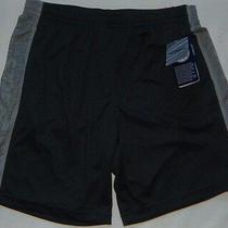 New Mens Asics Hot Shot Performance Shorts Size L Grey Msrp 35 Photo