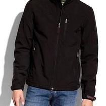 New Mens Authentic Guess Black Softshell Jacket Coat Xl Xlarge Photo