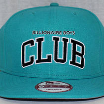 New Mens Bbc Billionaire Boys Club Premium New Era 9fifty Blue Snap Back Hat Photo