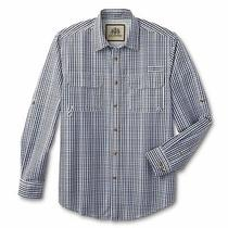 New Mens Big & Tall Size 4xl Button Fishing Shirt Tallwoods Element Wear Upf Spf Photo