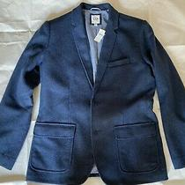 New Mens Blue Wool Blend Gap Blazer -  Sz M Nwt Photo