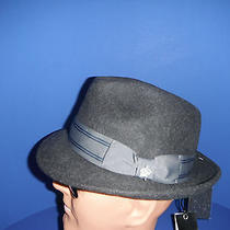 New Mens Christy's Wool Felt  Fedora Hat Grey Large ( With Bonus Sizing Tape ) Photo