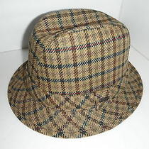 New Mens Christys European Wool Tweed  Fedora Hat Large  New  Photo