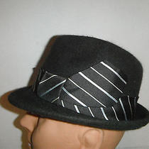 New Mens Christys Wool / Rabbit Fur - Felt  Fedora Hat Brown Medium Photo