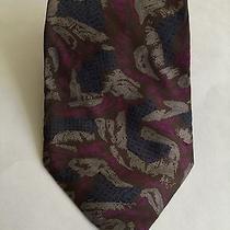New Mens Fendi Roma Pure Silk Necktie Photo