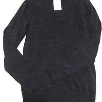 New Mens h&m Blue Pullover Sweater Size Small Photo