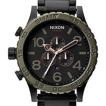 New Mens Nixon the 51-30 Chrono Watch Photo