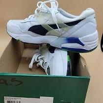 New Mens Puma R698 Mesh Neoprene 359125 01 White Blue Sneakers Shoes Photo