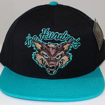 New Mens the Hundreds Scavenger Premium Black & Aqua Snap Back Hat Photo