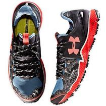 New Mens Under Armour Charge Rc Storm Running Shoes Size 11 Sneakers Blue Black Photo